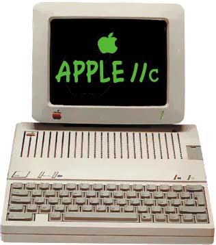 Apple IIC - Source Fabrice Montupet